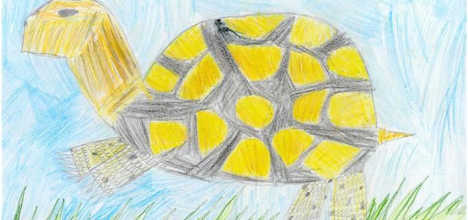 Děti s epilepsií malují obrazy na výstavu
