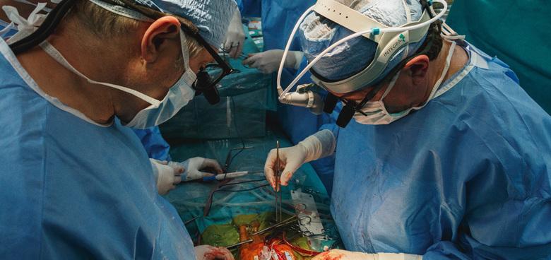 Srdce mimo hrudník a následná transplantace zachránila život devatenáctiměsíčnímu miminku