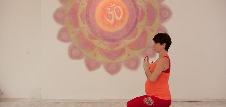Sestava Pozdrav slunci pro těhotné