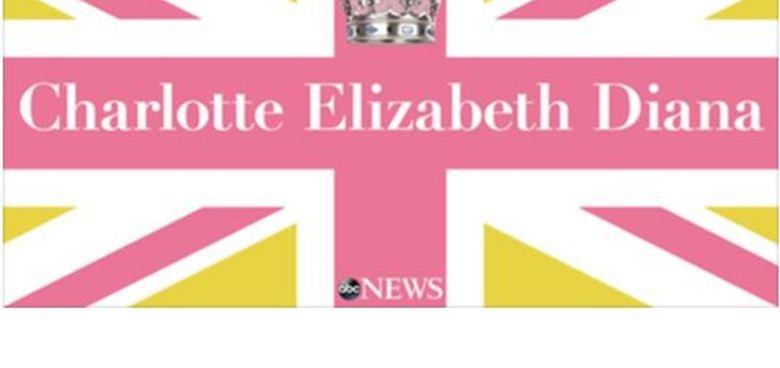 Charlotte Elizabeth Diana!