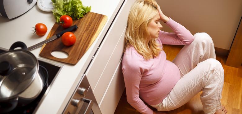 Deprese přišly už před porodem, Alice chtěla na potrat