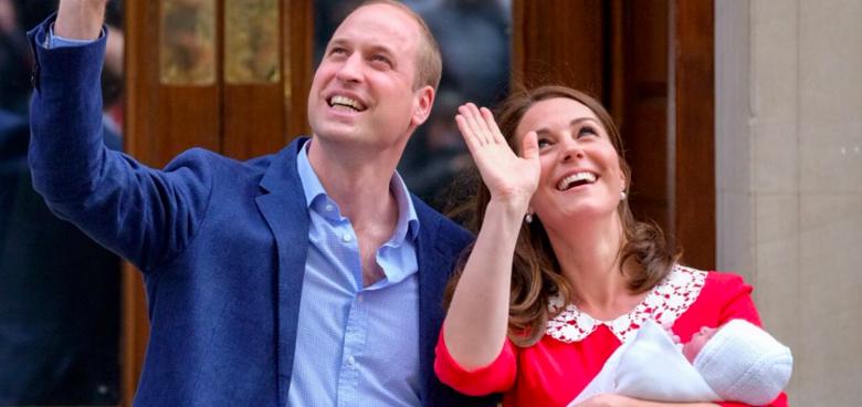Královský palác omylem prozradil jméno třetího potomka Williama a Kate! Jak se bude princ jmenovat?