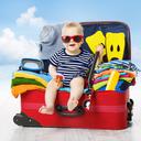 Co sbalit do zavazadla na dovolenou s dětmi?