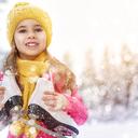 Zimní sporty pro nejmenší, vyzkoušejte lyže, brusle i boby