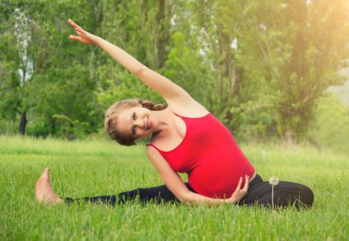 Jóga těhotenství prospívá